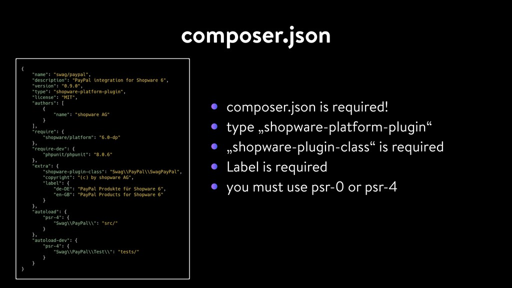 """composer.json composer.json is required! type """"..."""