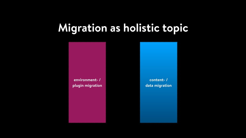 Migration as holistic topic content- / data mig...