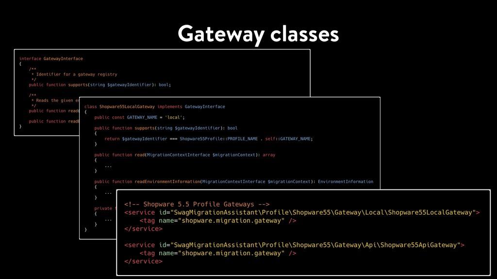 Gateway classes