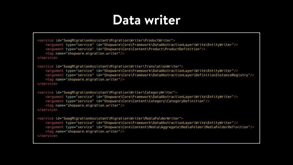 Data writer