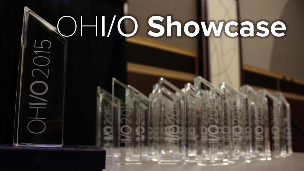 OHI/O Showcase