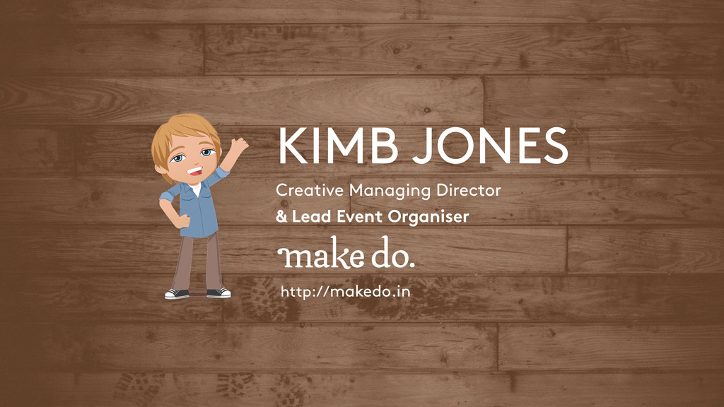 Creative Managing Director KIMB JONES http://ma...