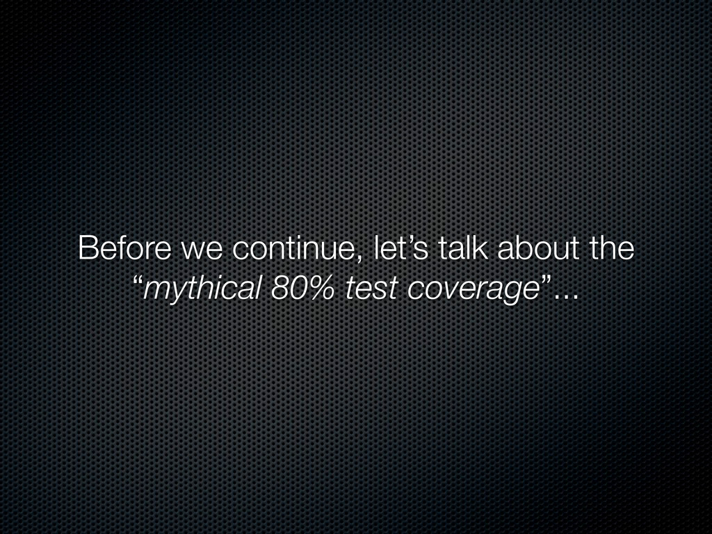 """Before we continue, let's talk about the """"mythi..."""