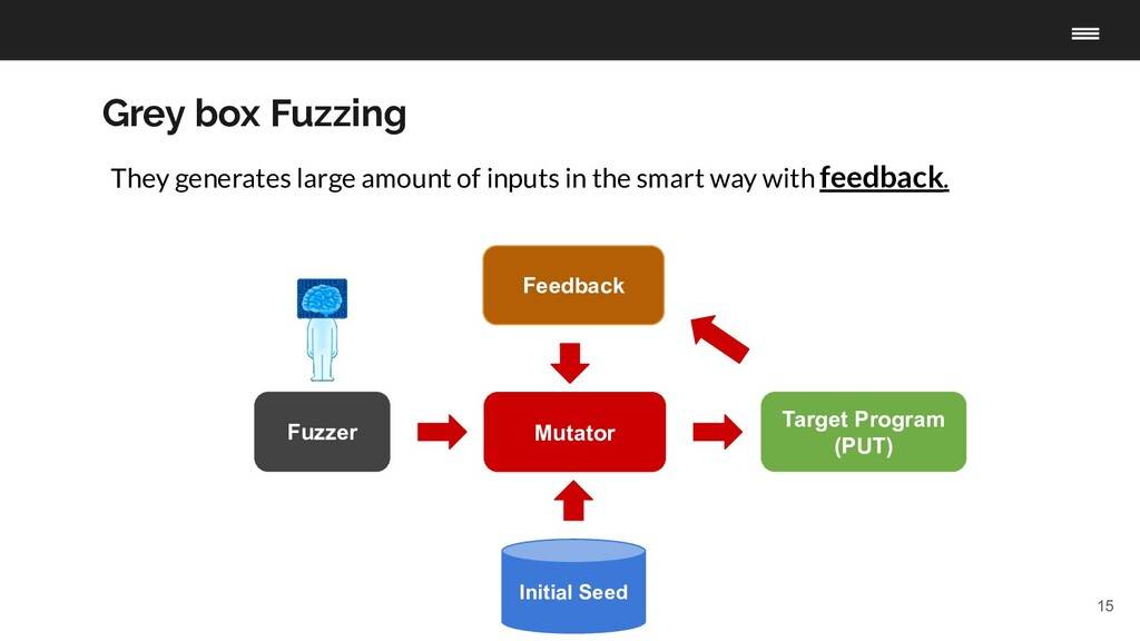 15 Fuzzer Target Program (PUT) Initial Seed Mut...
