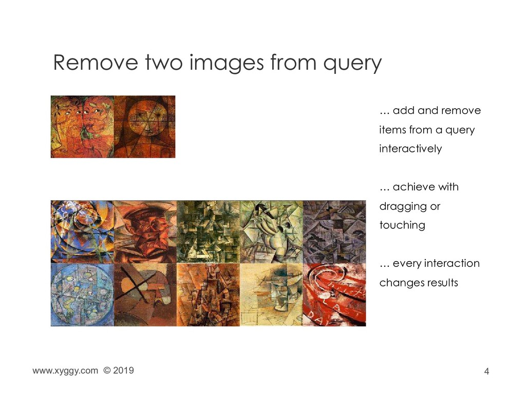 4 Remove two images from query … add and remove...