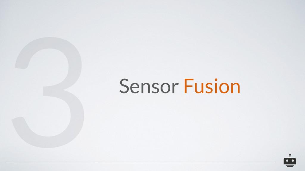 Sensor Fusion 3