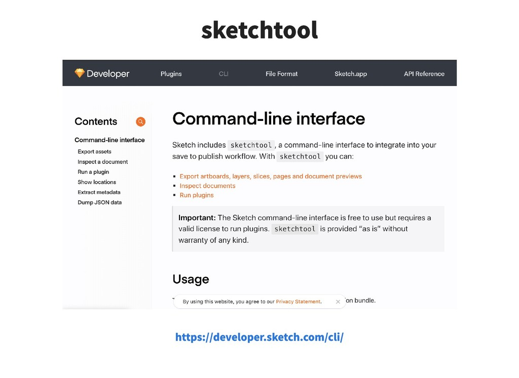 sketchtool sketchtool https://developer.sketch....