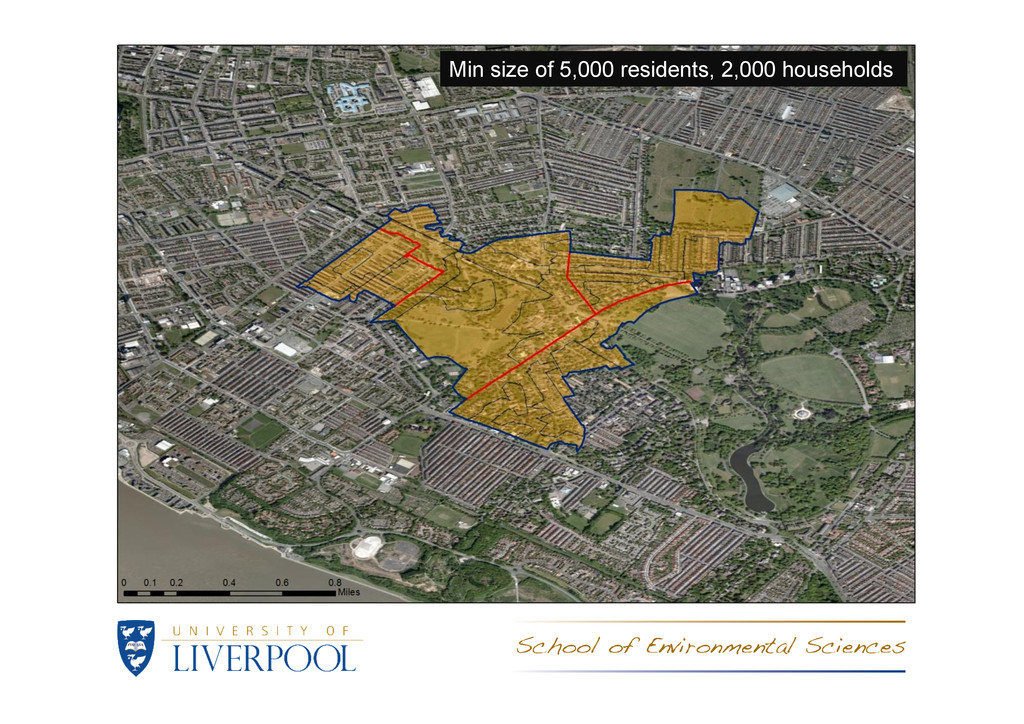 Min size of 5,000 residents, 2,000 households