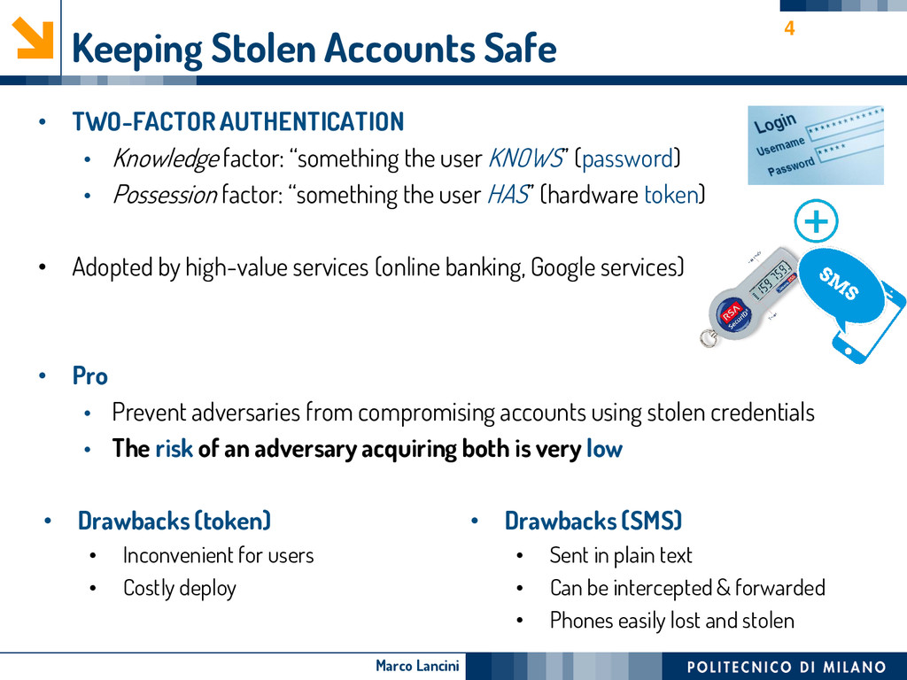 Marco Lancini Keeping Stolen Accounts Safe • TW...