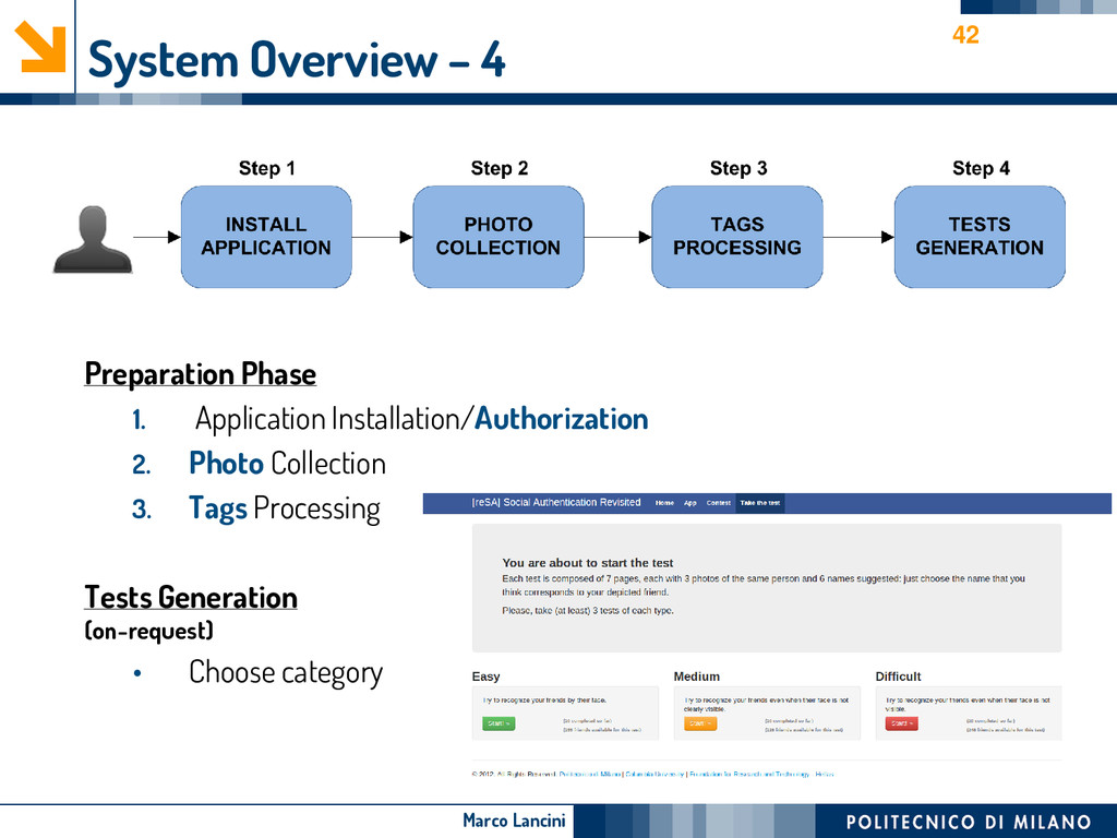Marco Lancini System Overview – 4 Preparation P...
