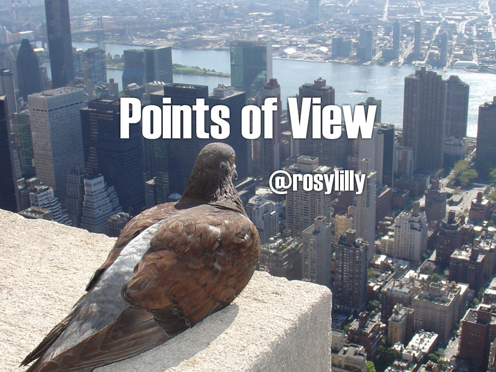 Points of View @rosylilly