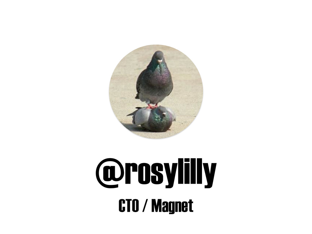 @rosylilly CTO / Magnet