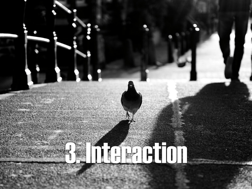 3. Interaction