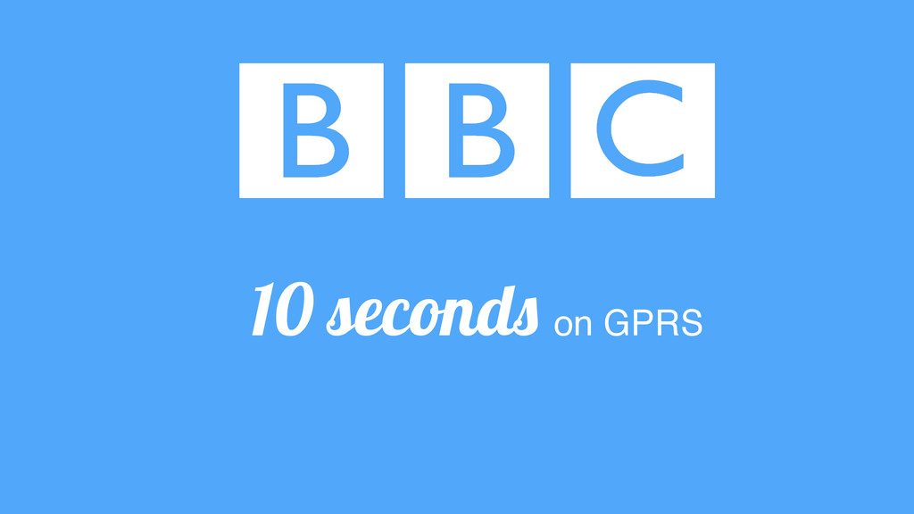 10 seconds on GPRS