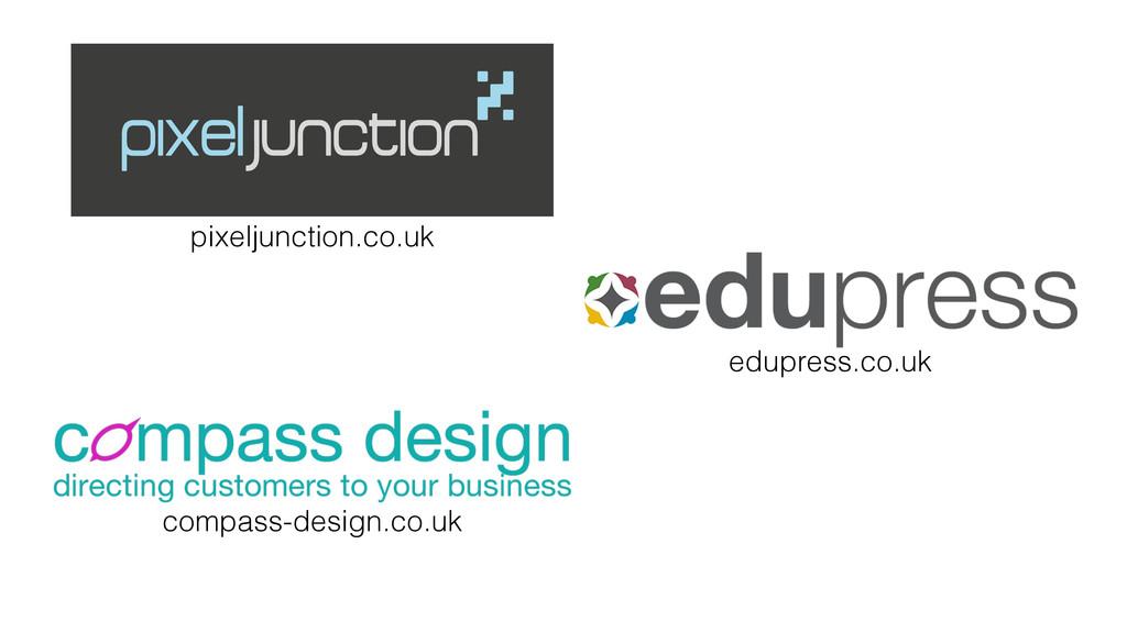 pixeljunction.co.uk compass-design.co.uk edupre...