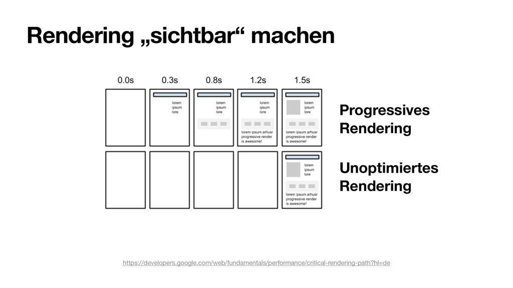 "Rendering ""sichtbar"" machen https://developers...."