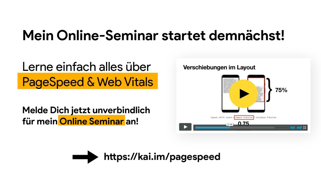 Mein Online-Seminar startet demnächst! Lerne ei...