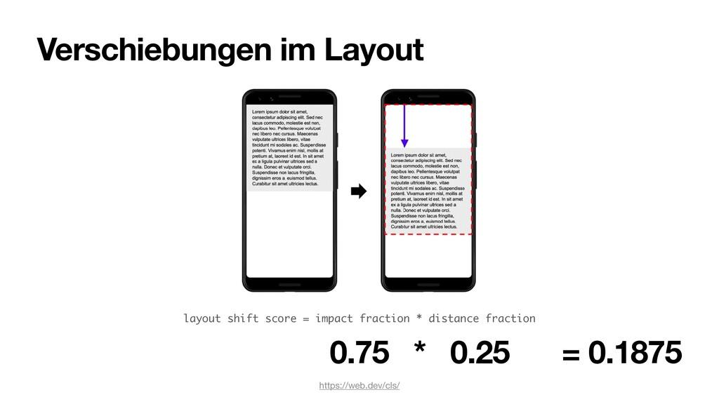 Verschiebungen im Layout https://web.dev/cls/ l...