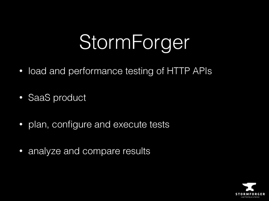 StormForger • load and performance testing of H...