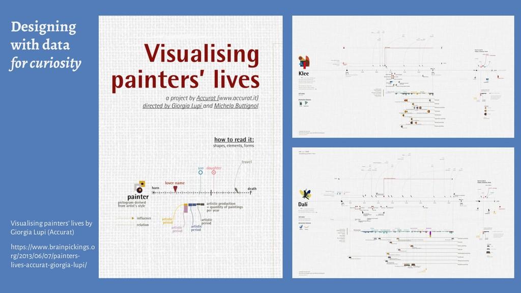Designing with data for curiosity Visualising p...