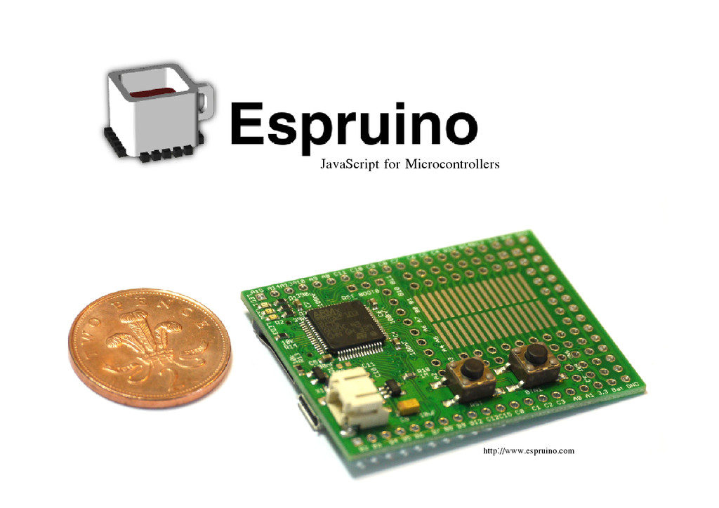 JavaScript for Microcontrollers http://www.espr...