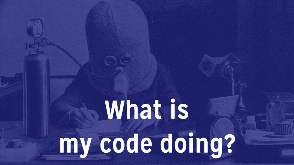 What is my code doing?