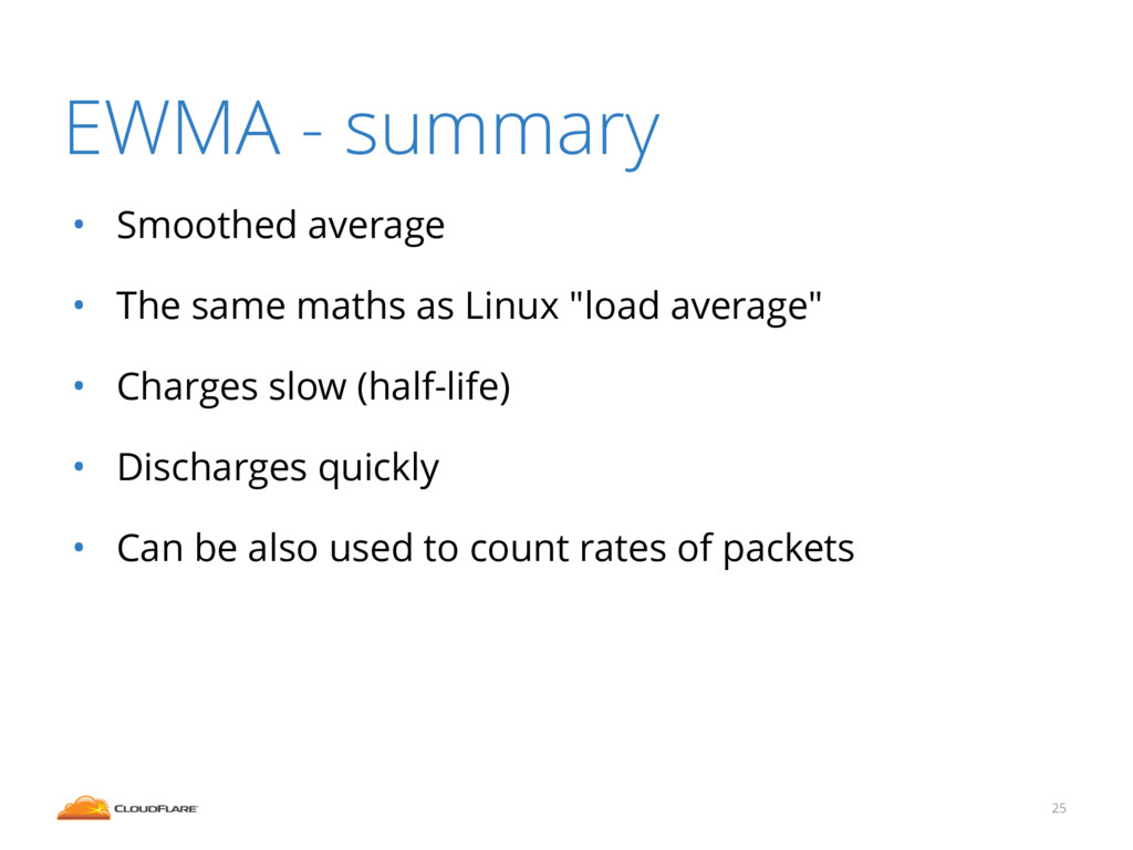 "• Smoothed average • The same maths as Linux ""l..."