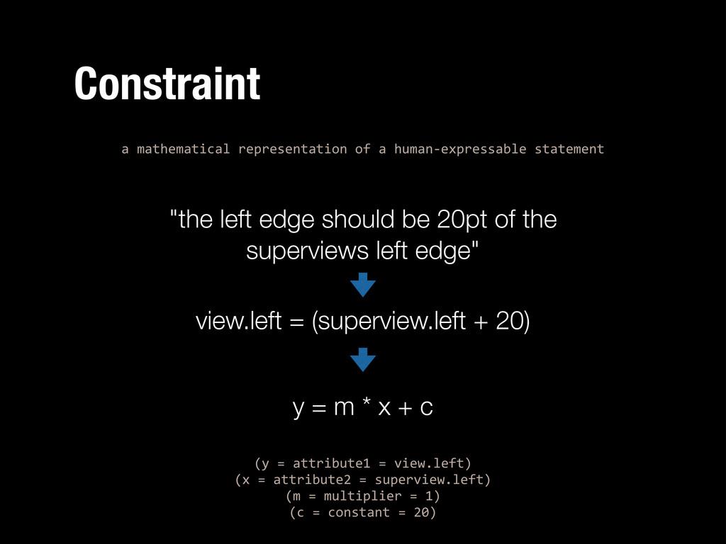 Constraint a%mathematical%representation%of%a%h...