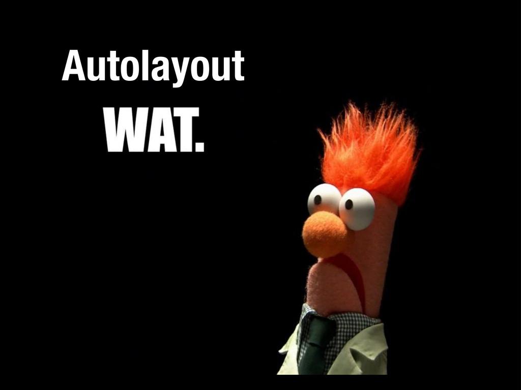 Autolayout