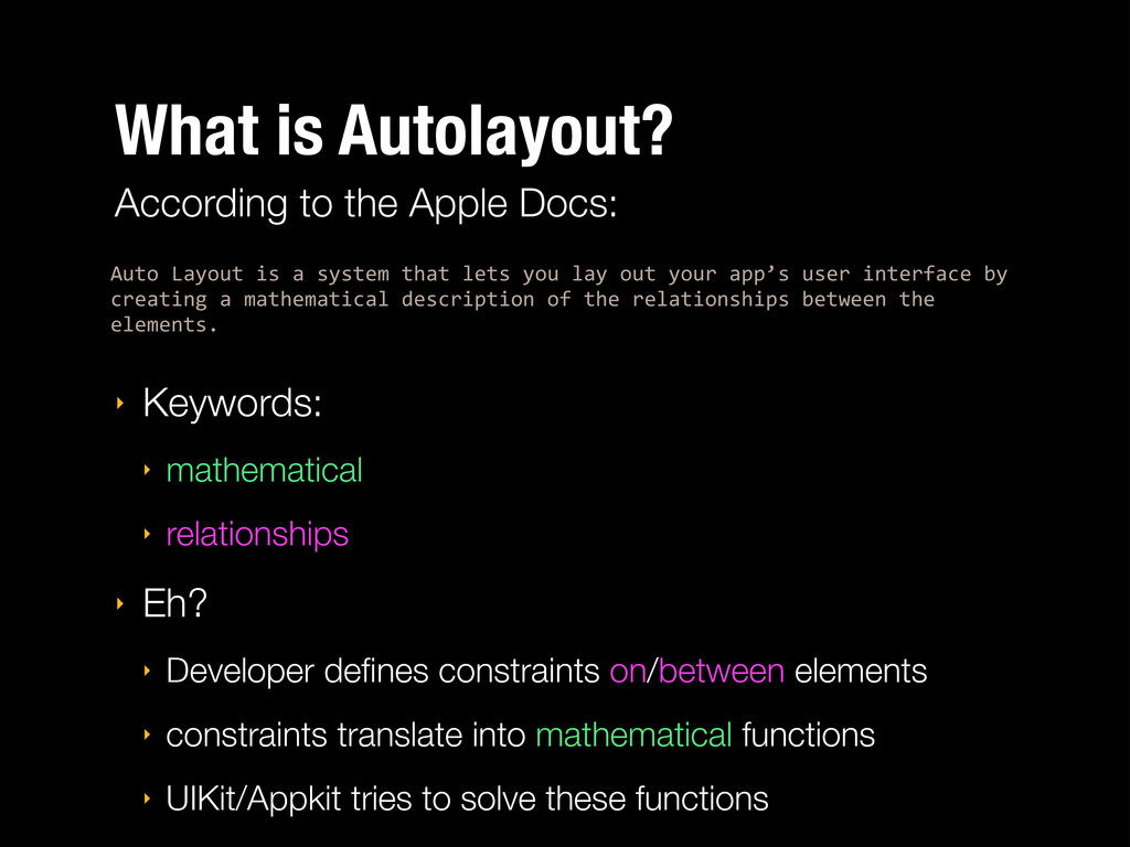 What is Autolayout? Auto%Layout%is%a%system%tha...