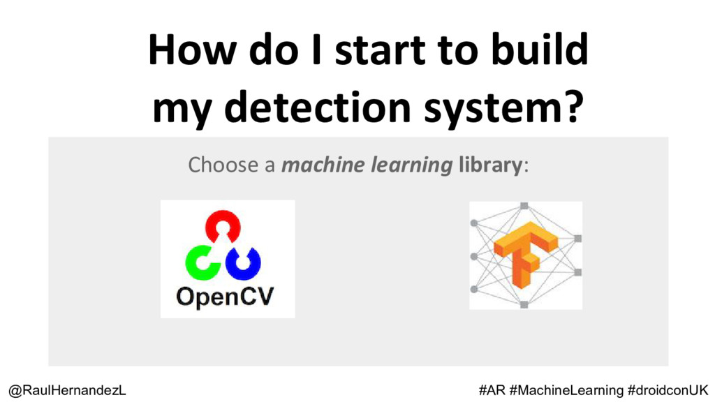 How do I start to build my detection system? @R...