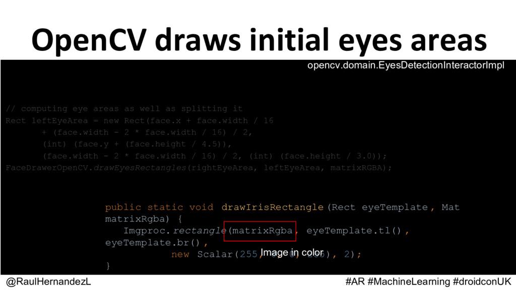 @RaulHernandezL #AR #MachineLearning #droidconU...