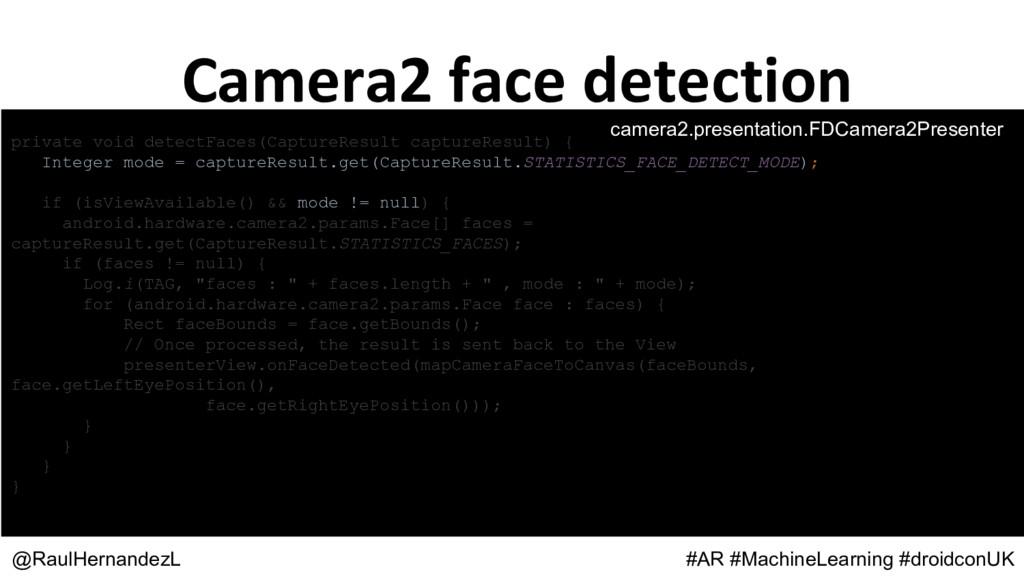 private void detectFaces(CaptureResult captureR...