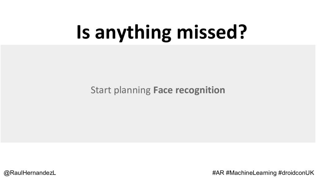 Is anything missed? @RaulHernandezL #AR #Machin...