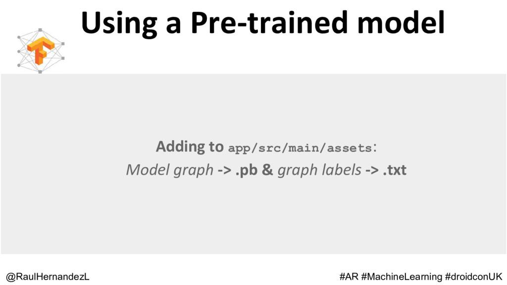 Using a Pre-trained model @RaulHernandezL #AR #...