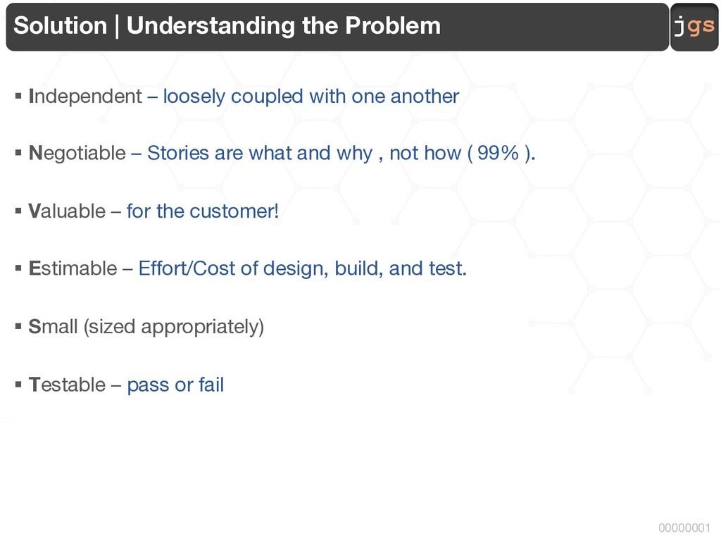 jgs 00000001 Solution | Understanding the Probl...