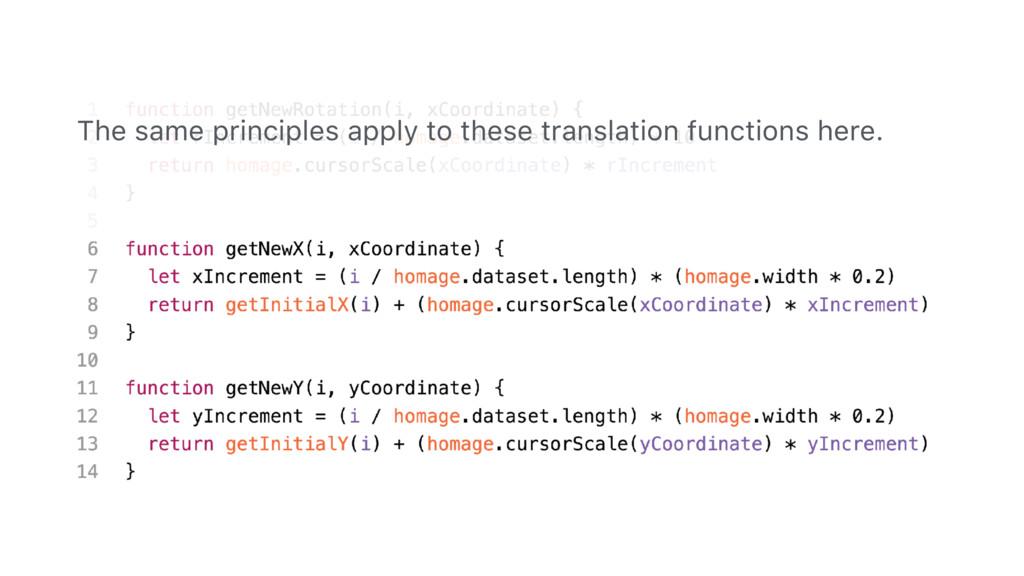 95 The same principles apply to these translati...