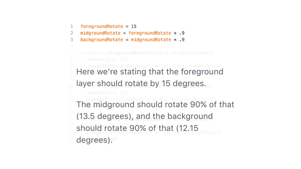 Here we're stating that the foreground layer sh...