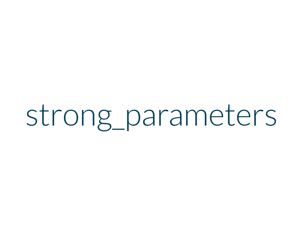 strong_parameters