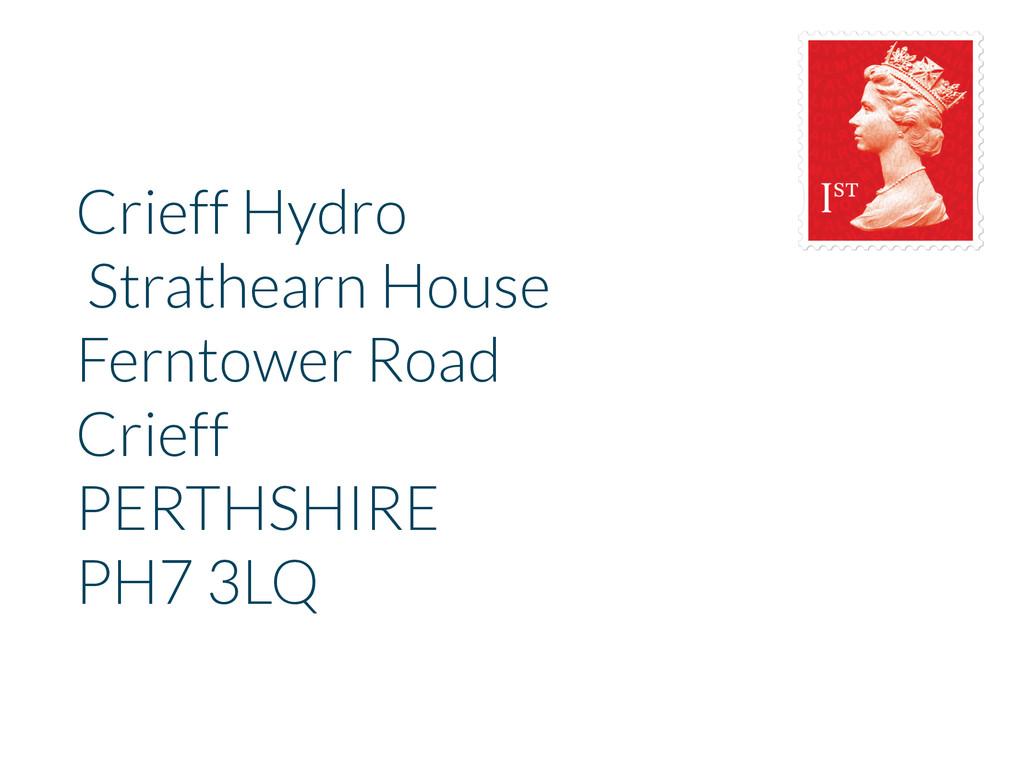 Crieff Hydro Strathearn House Ferntower Road Cr...