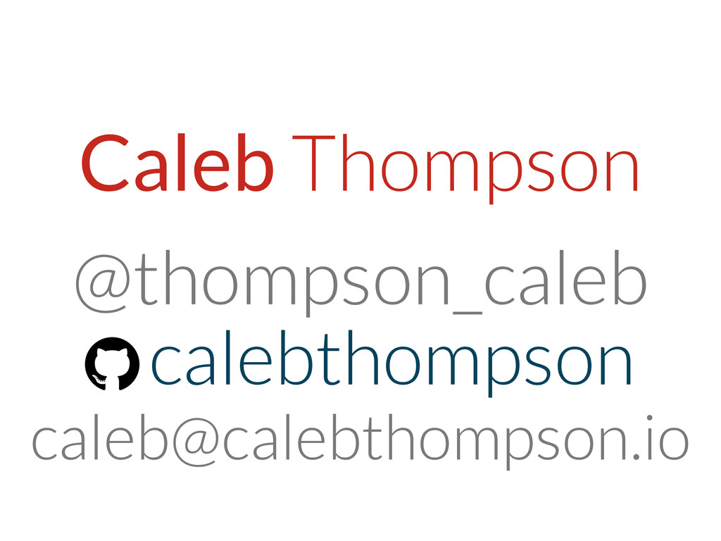 Caleb Thompson @thompson_caleb calebthompson ca...