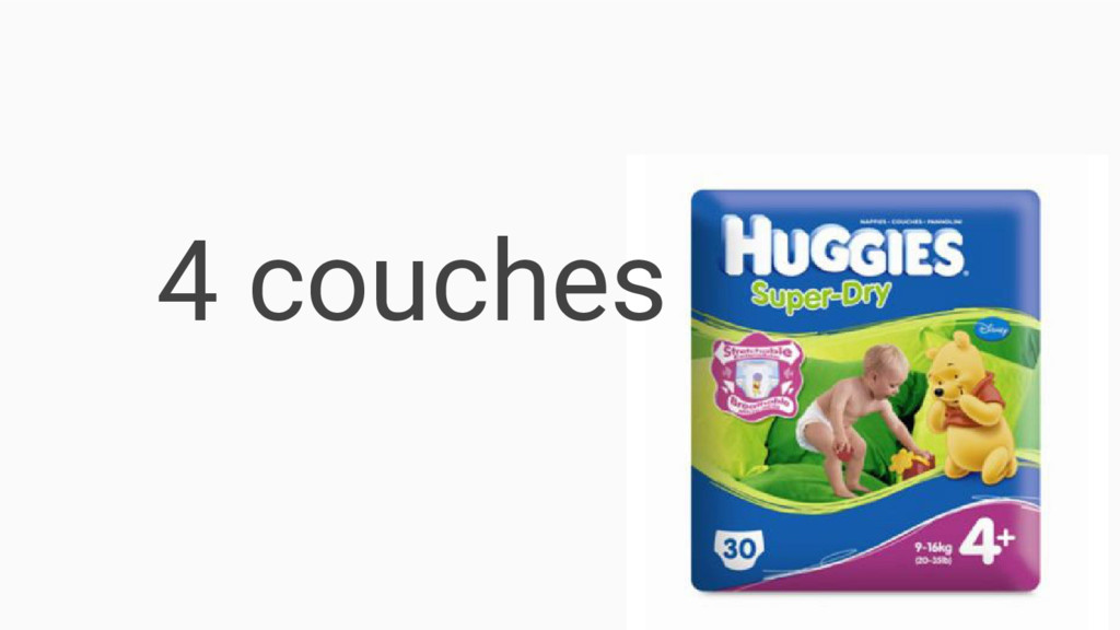 4 couches