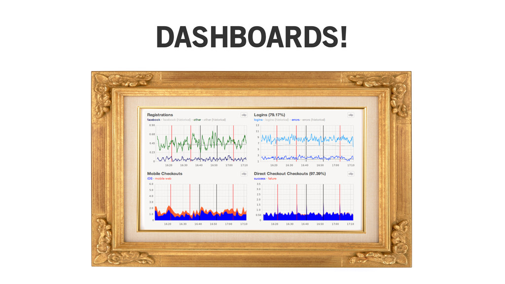DASHBOARDS!
