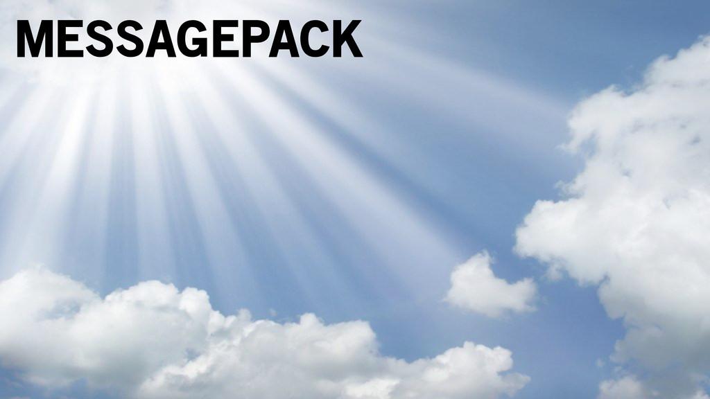 MESSAGEPACK