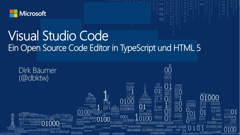 Visual Studio Code Ein Open Source Code Editor ...