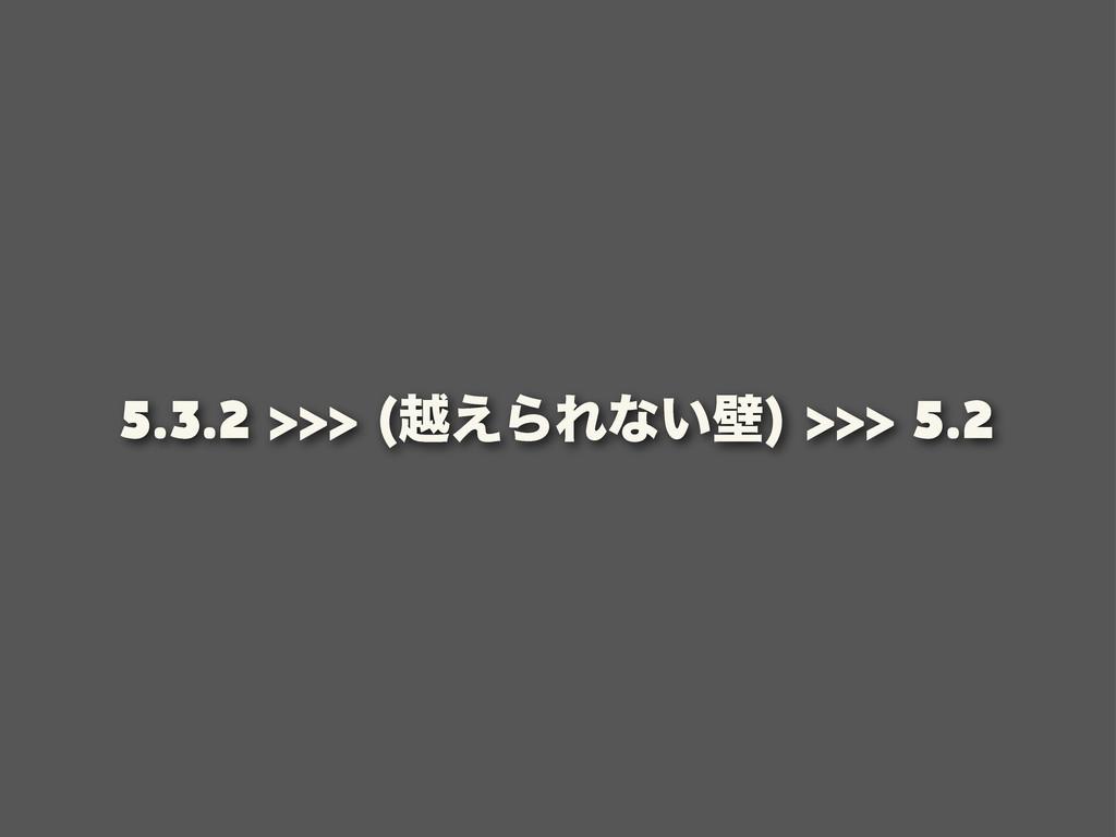 5.3.2 ӽ͑ΒΕͳ͍น 5.2