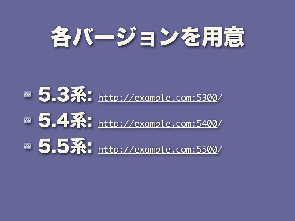 ֤όʔδϣϯΛ༻ҙ ܥhttp://example.com:5300/ ܥ...