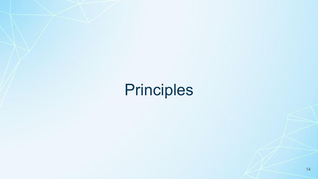 Principles 14