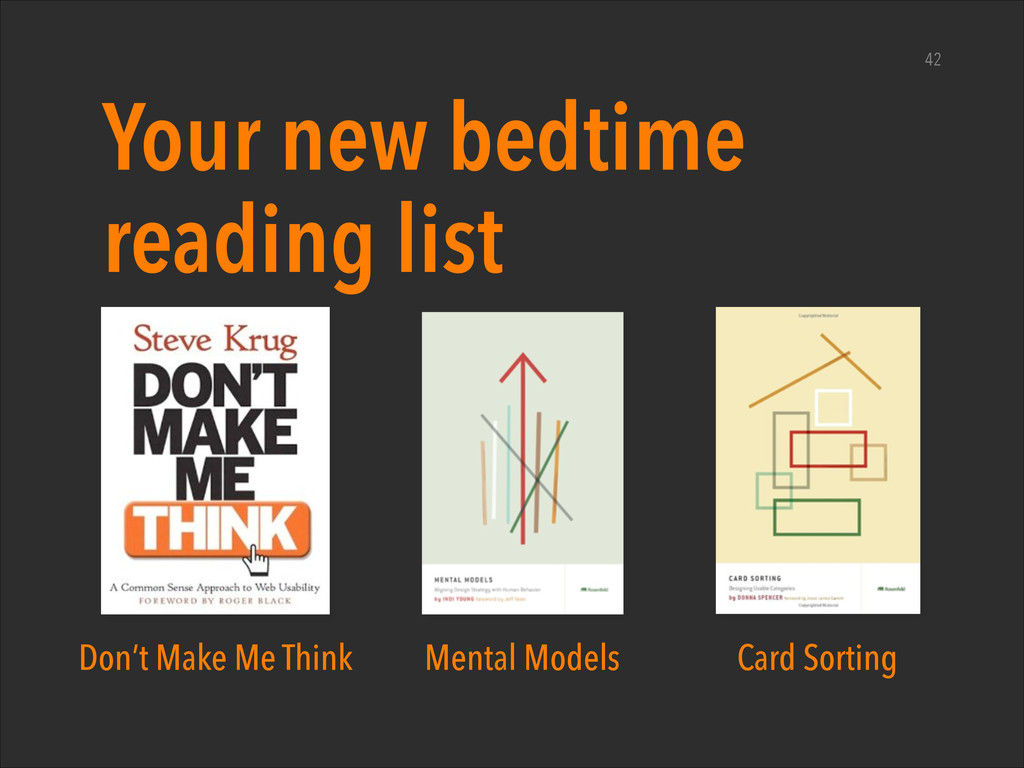 Your new bedtime reading list 42 Don't Make Me ...