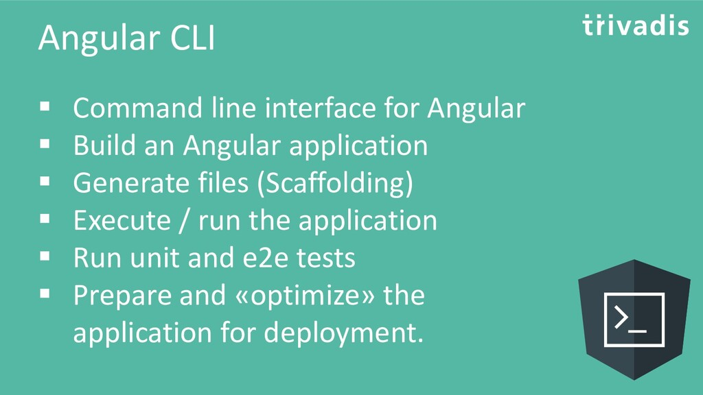 Angular CLI ▪ Command line interface for Angula...